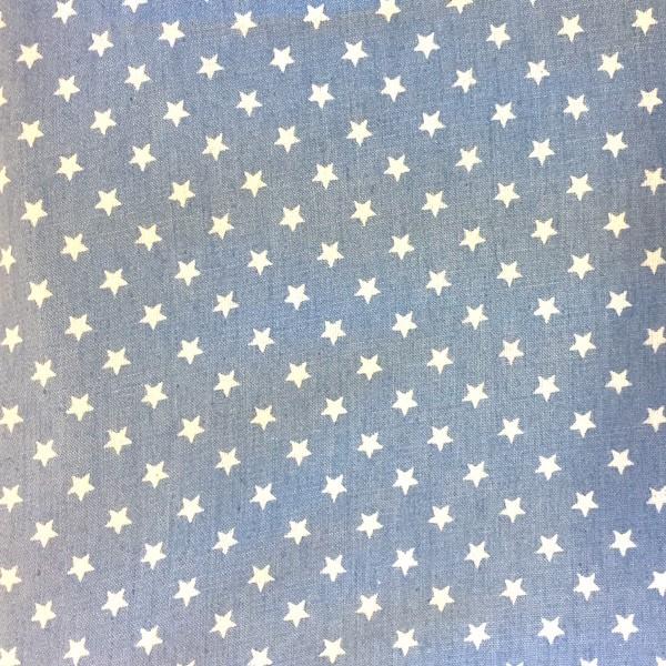 Sommerjeans Sterne hellblau